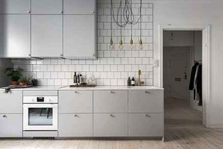 100 great design ideas scandinavian for your kitchen (47)