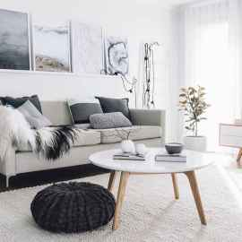 100 inspiring modern living room scandinavian decoration for your home (70)
