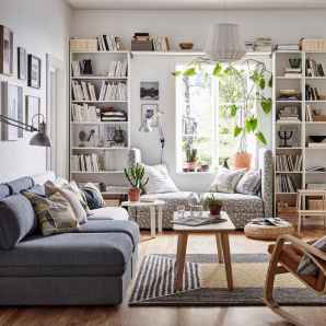 25 stunning home libraries with scandinavian style (1)