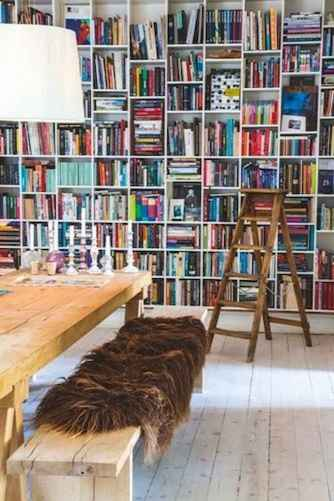 25 stunning home libraries with scandinavian style (3)