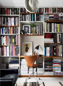 25 stunning home libraries with scandinavian style (36)