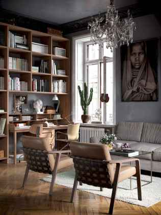 25 stunning home libraries with scandinavian style (52)