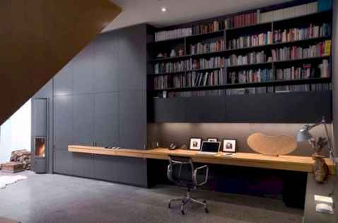 25 stunning home libraries with scandinavian style (66)