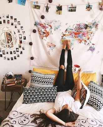 30 apartment bedroom ideas on a budget (20)