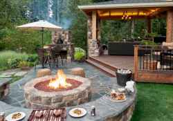 30+ inspirational design rustic for backyard (26)