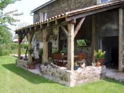30+ inspirational design rustic for backyard (7)