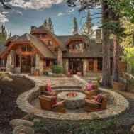 30+ inspirational design rustic for backyard (9)