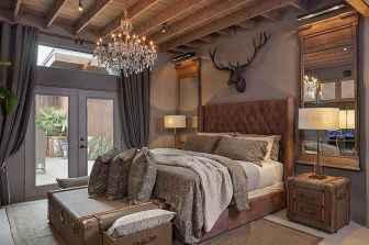 40 beautiful and elegant rustic bedroom decorating ideas (1)