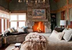 40 beautiful and elegant rustic bedroom decorating ideas (3)