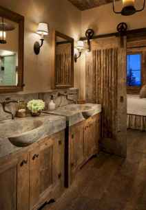 40 homely rustic bathroom ideas to warm you up this winter (31)