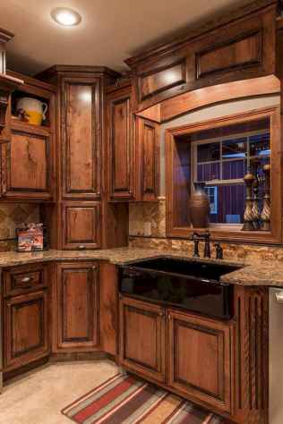 44+ wonderful ideas to design your rustic kitchen (17)