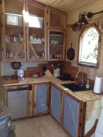 44+ wonderful ideas to design your rustic kitchen (26)