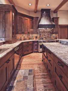 44+ wonderful ideas to design your rustic kitchen (5)
