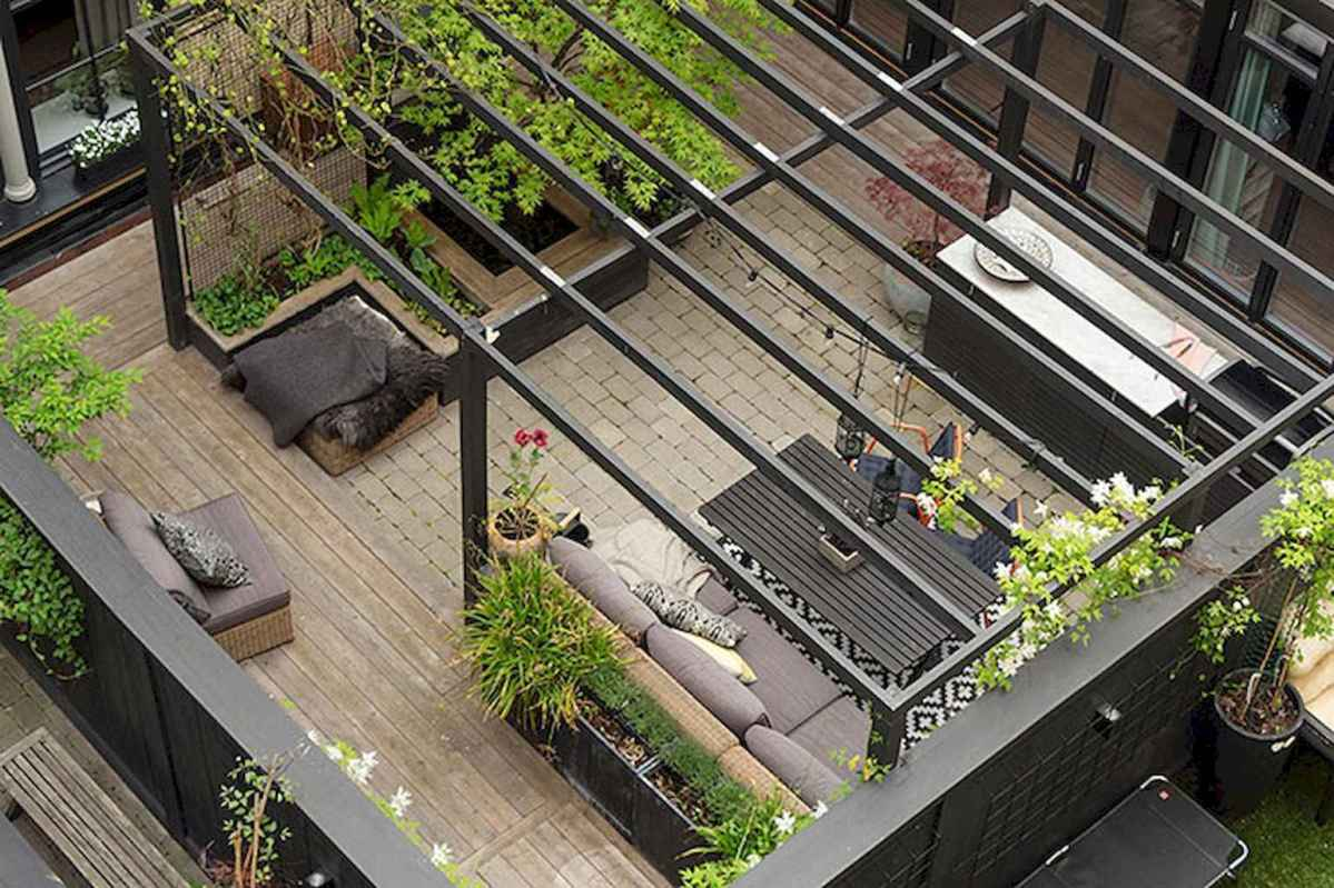 50 scandinavian porch makeover and a relaxing date night on the deck (39)