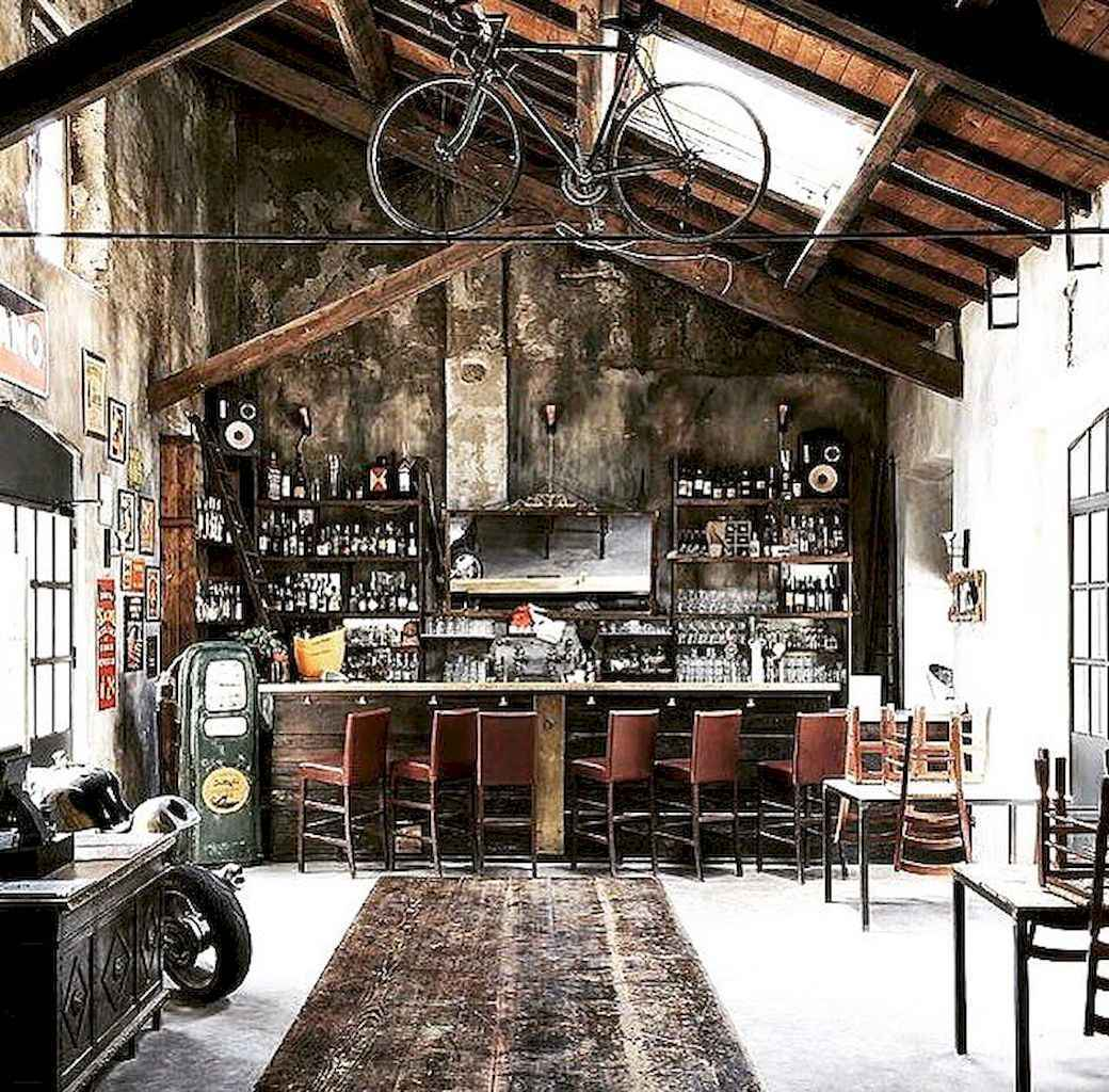 50 vintage bar decor ideas (12)