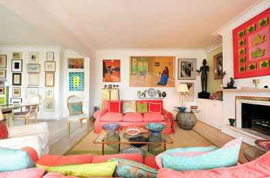 60 amazing eclectic style living room design ideas (53)