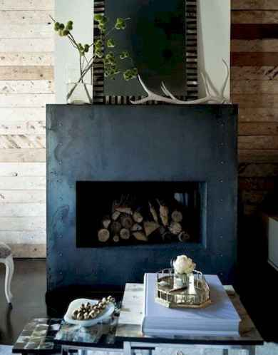 60 awesome eclectic fireplace ideas (20)