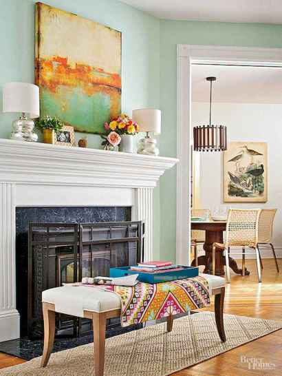 60 awesome eclectic fireplace ideas (6)