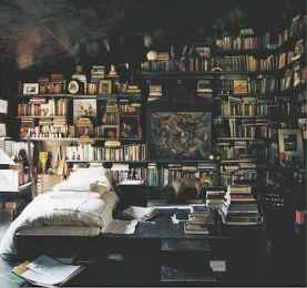 60 awesome ideas vintage library (5)