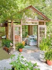 60 beautiful eclectic backyard decor (53)