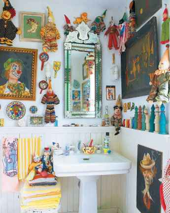 60 beautiful eclectic bathrooms to inspire you (55)