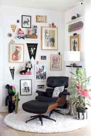 60 beautiful eclectic bedroom (44)