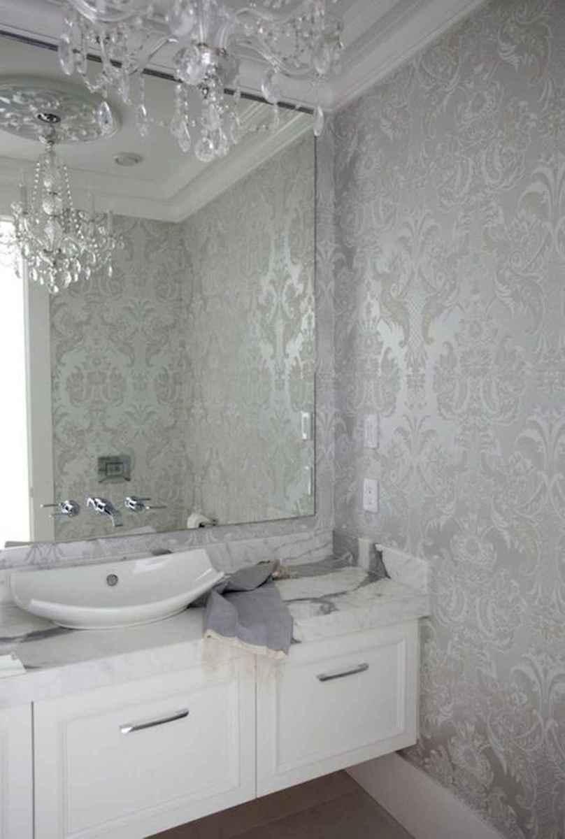 60+ beautiful vintage powder room ideas (19)