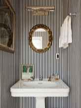 60+ beautiful vintage powder room ideas (24)