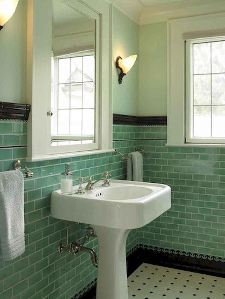 60+ beautiful vintage powder room ideas (27)