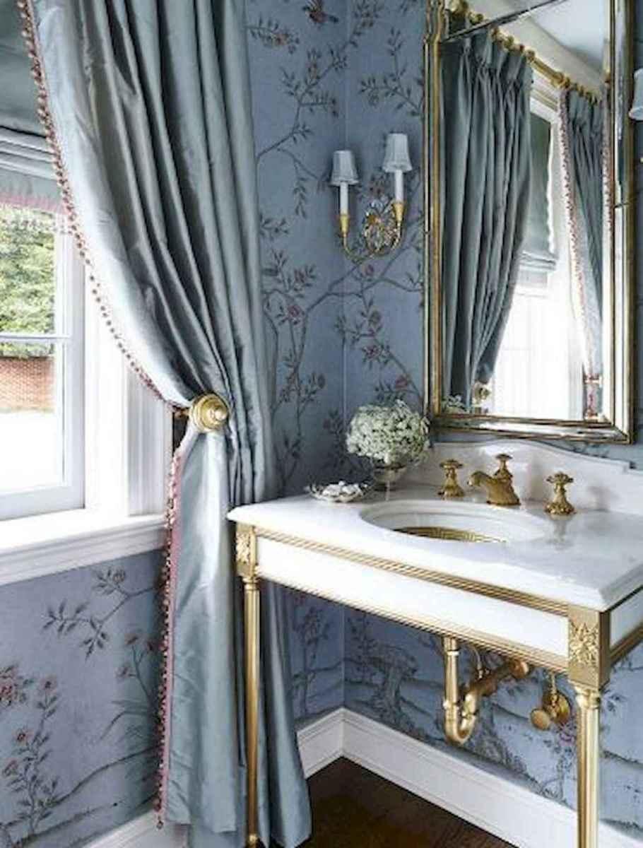 60+ beautiful vintage powder room ideas (33)