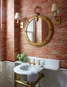60+ beautiful vintage powder room ideas (34)