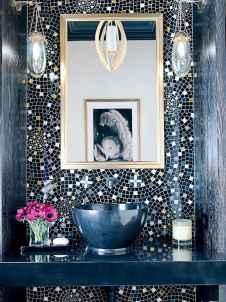 60+ beautiful vintage powder room ideas (46)