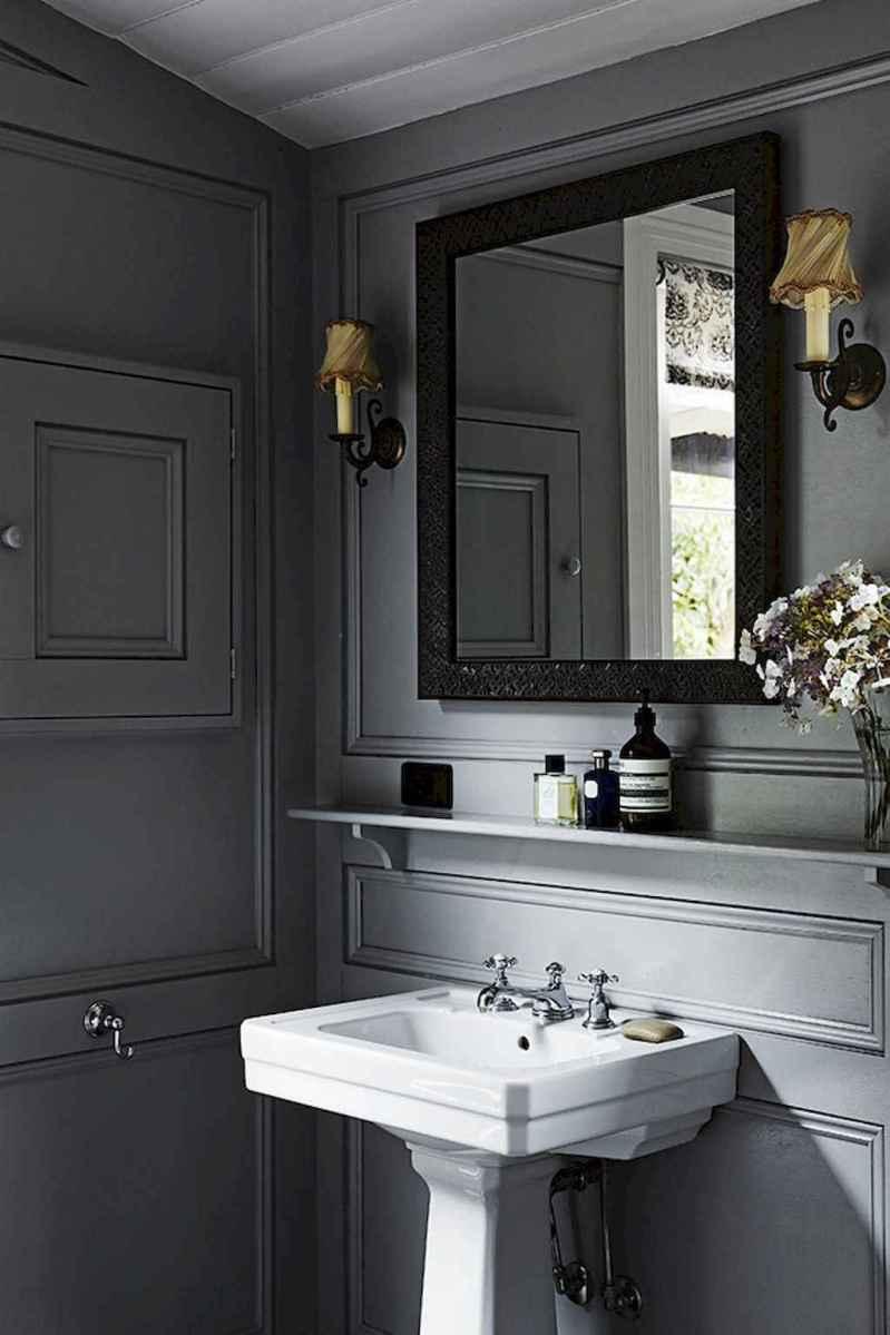 60+ beautiful vintage powder room ideas (50)