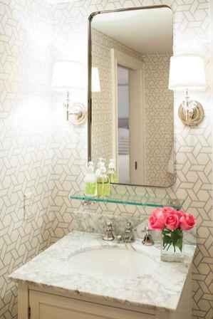 60+ Vintage Powder Room Ideas Decoration Remodel - LivingMarch.com