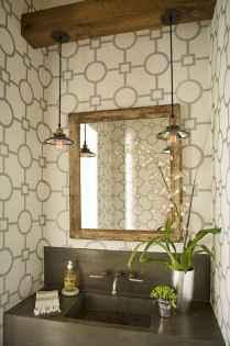 60 cool rustic powder room design ideas (7)