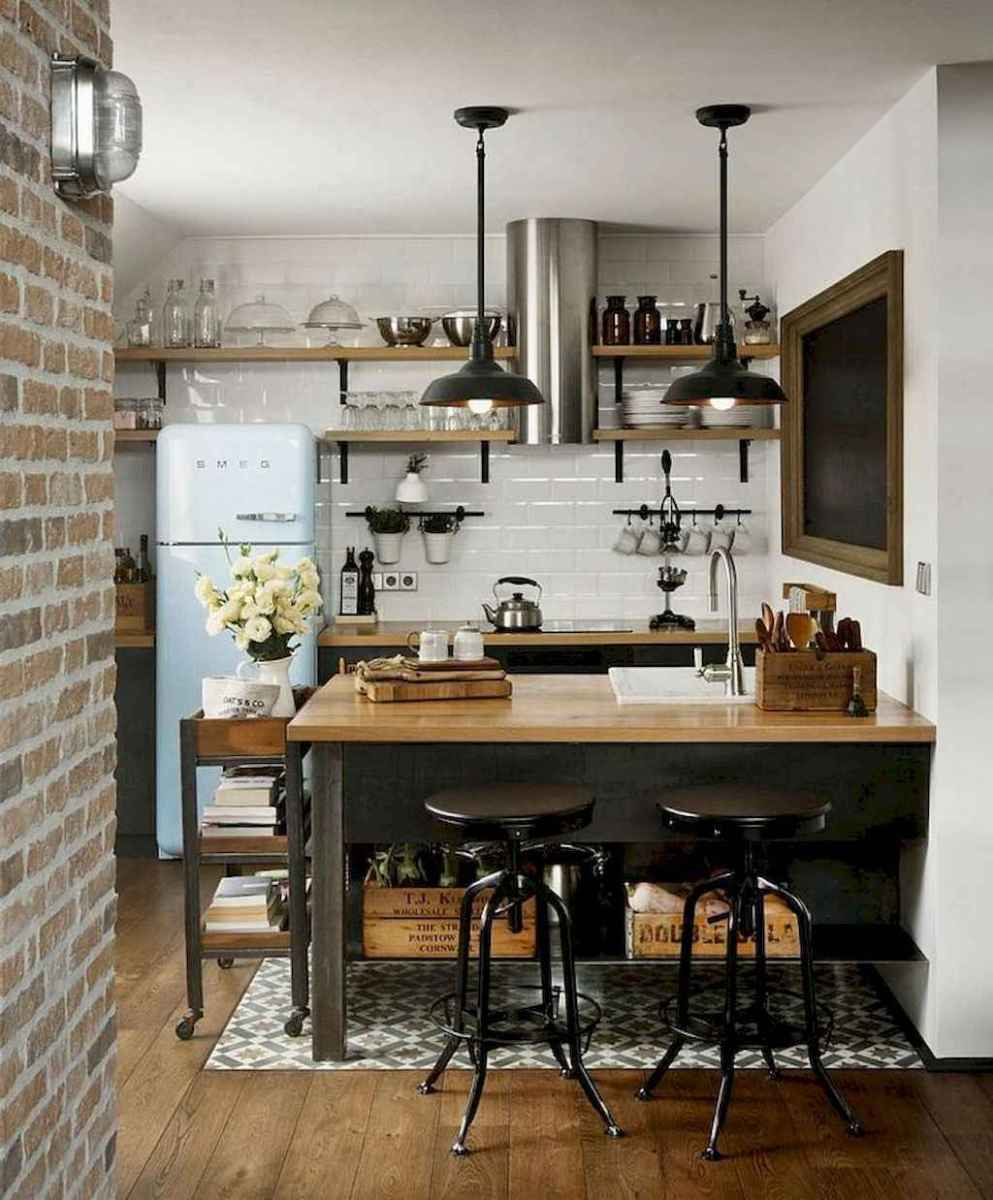 60 great vintage design ideas for your kitchen (39)
