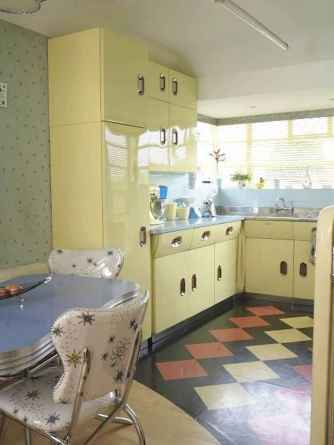 60 great vintage design ideas for your kitchen (55)