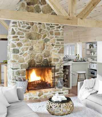 60 ideas about rustic fireplace (40)