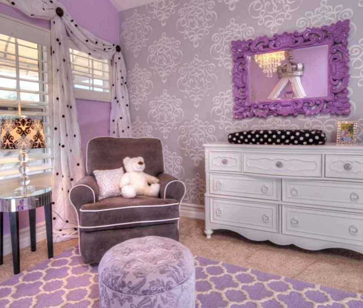 Beautiful decor bedroom for girls (32)