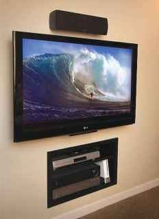 Bedroom tv wall ideas (26)