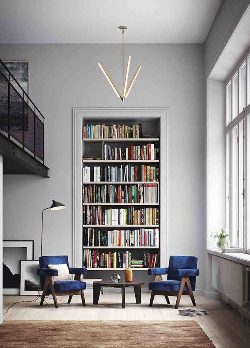 Cool home library design ideas (18)