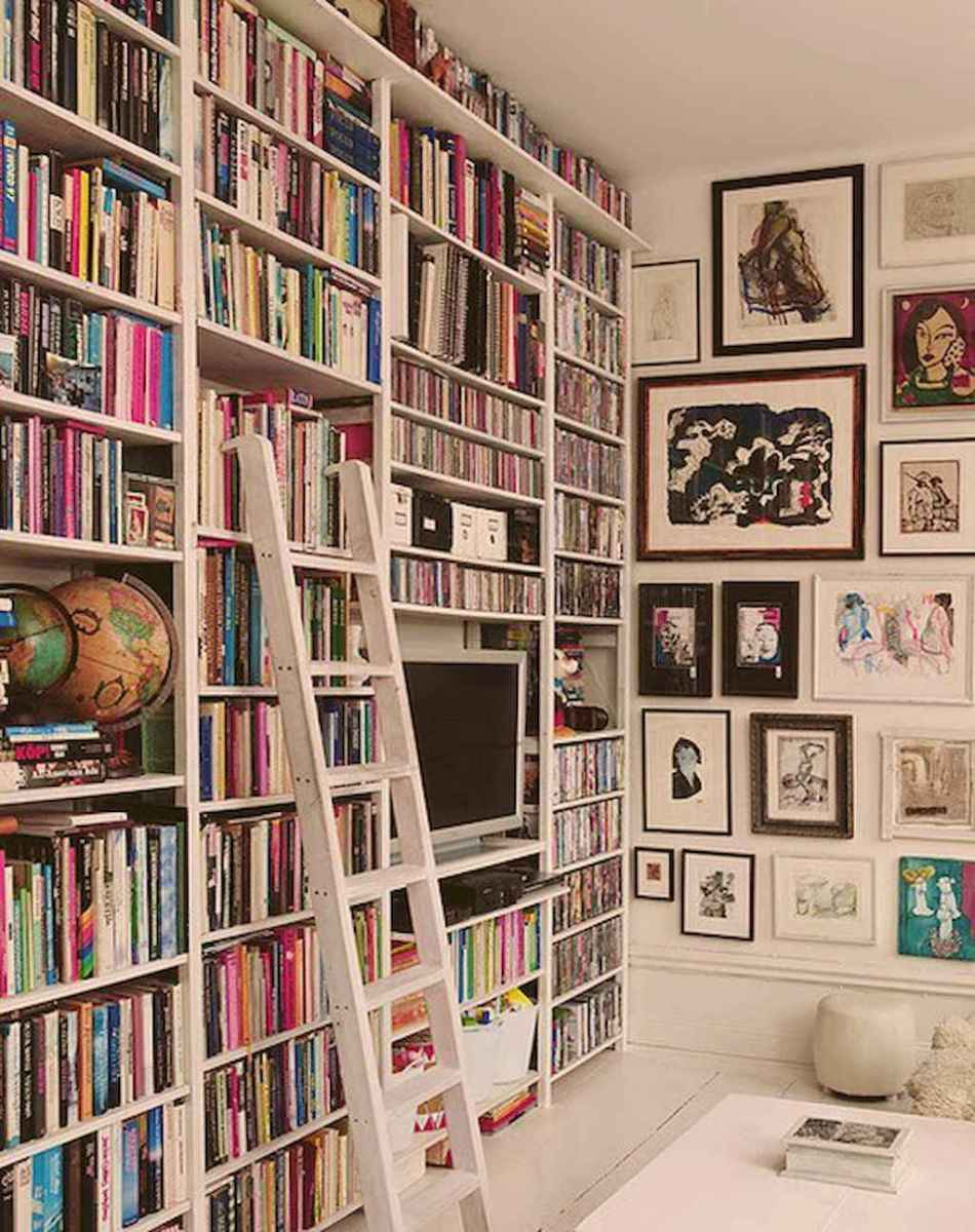 Cool home library design ideas (2)