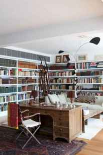Cool home library design ideas (29)