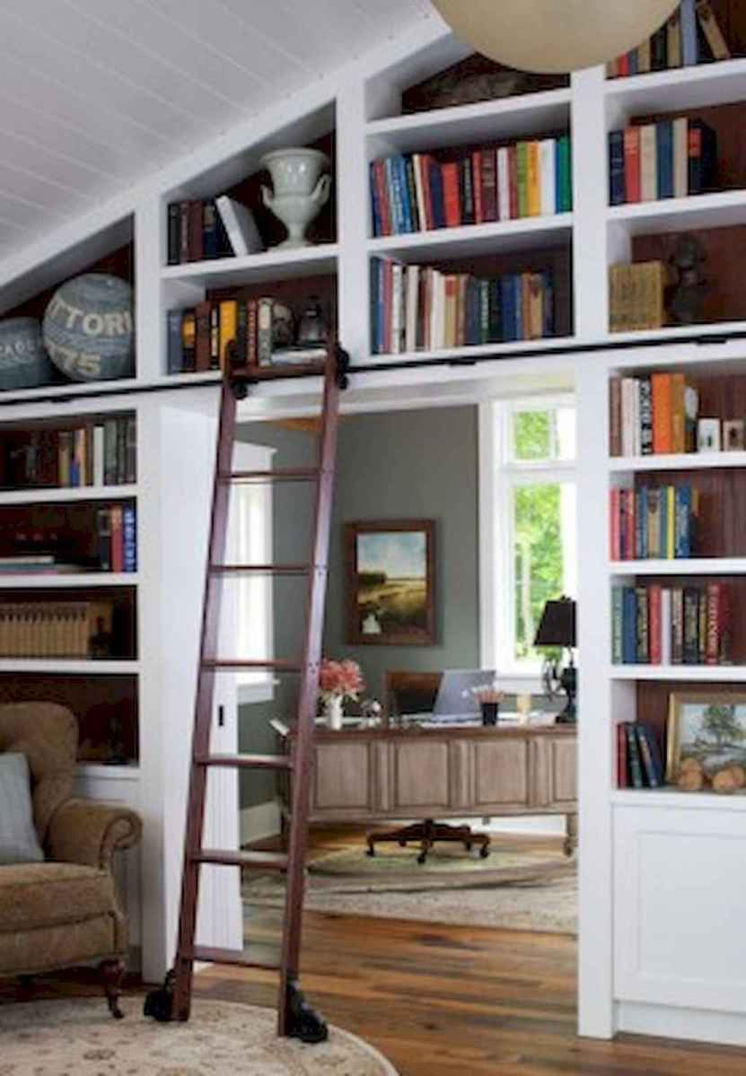 Cool home library design ideas (4)