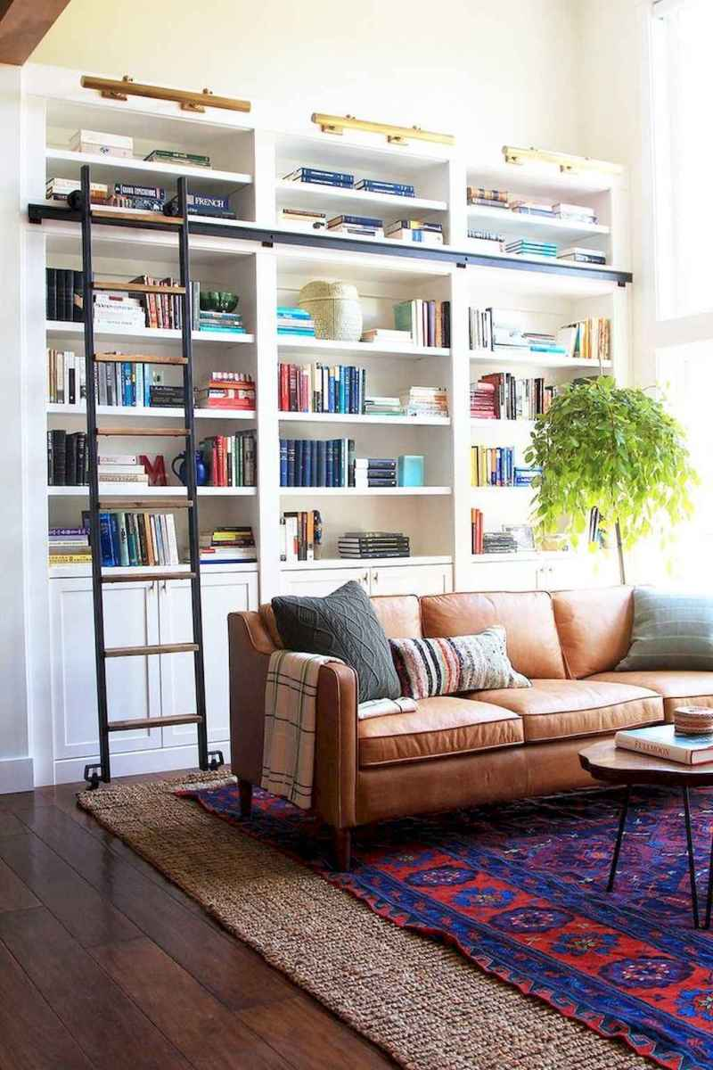 Cool home library design ideas (47)