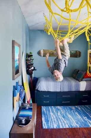Cool sport bedroom ideas for boys (10)