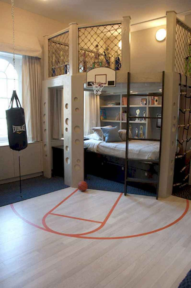 Cool sport bedroom ideas for boys (16)
