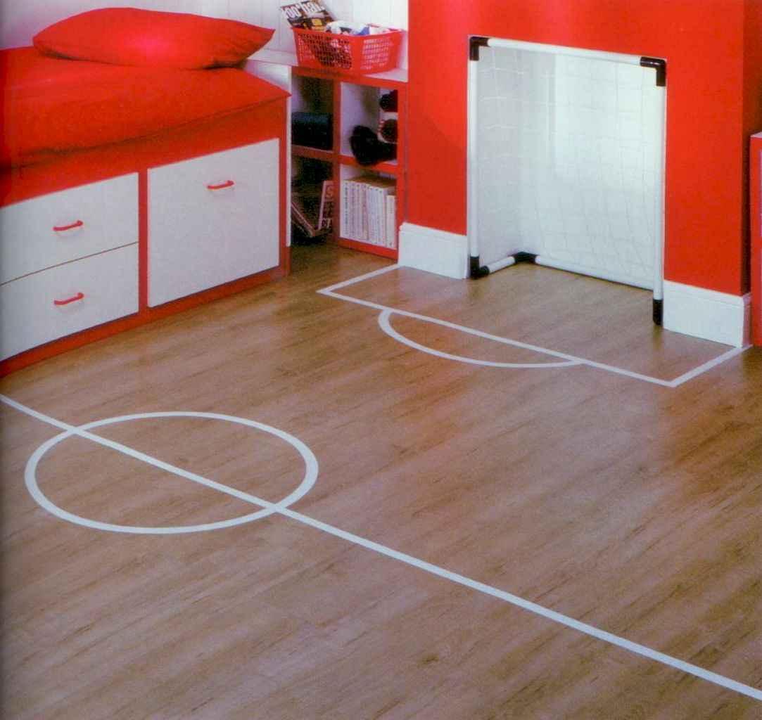 Cool sport bedroom ideas for boys (25)