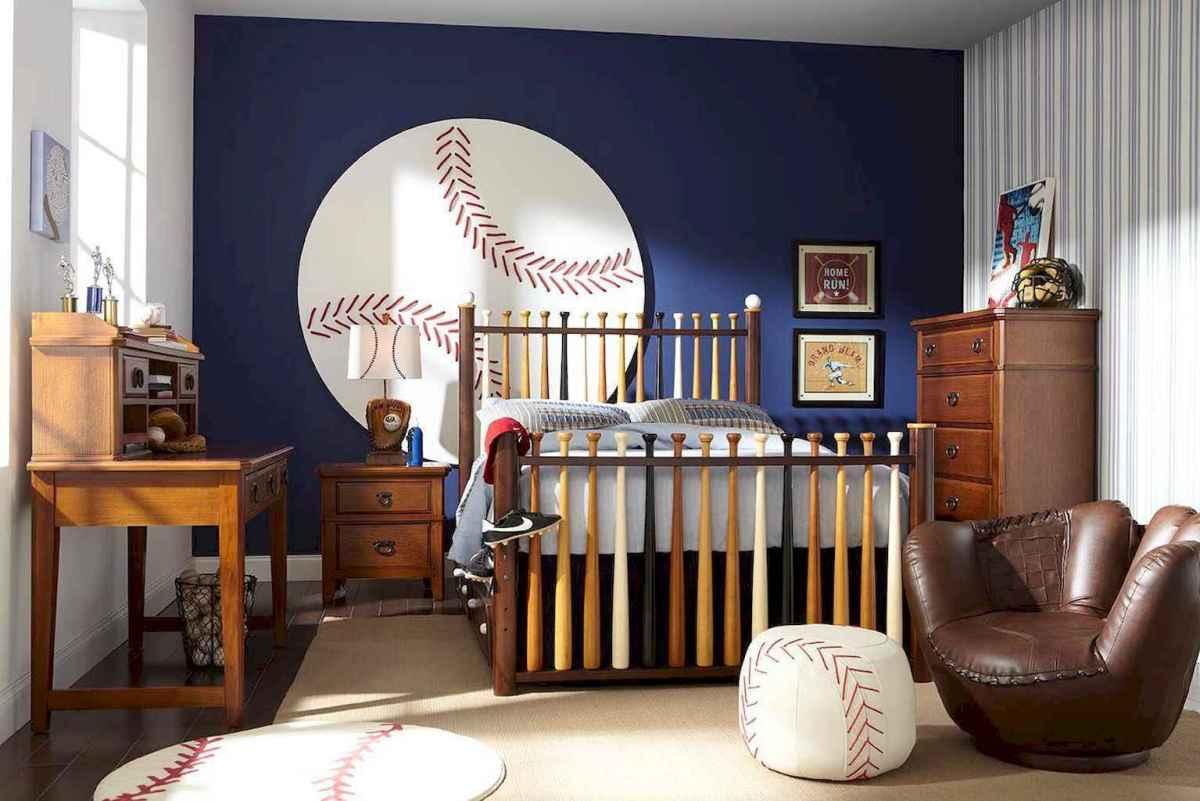 Cool sport bedroom ideas for boys (29)