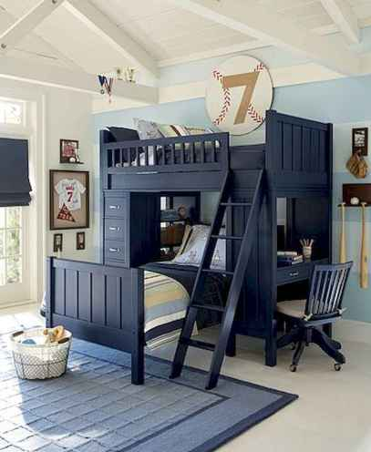 Cool sport bedroom ideas for boys (49)